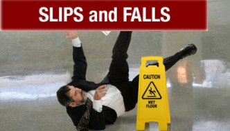 Slips, Trips and Falls Can Cause Serious Pain at Work