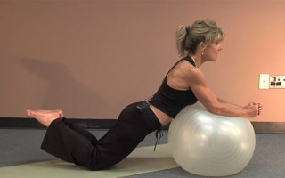 Core Strengthening with Exercise Ball