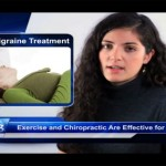 a spokeswoman seen as she describes natural migraine headache treatment
